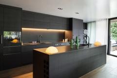 Interior, Modern kitchen
