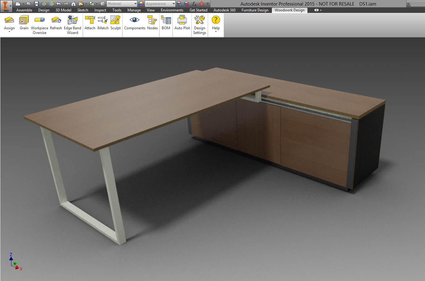 Woodwork for inventor blogcriteria for the selection of for Furniture design software online
