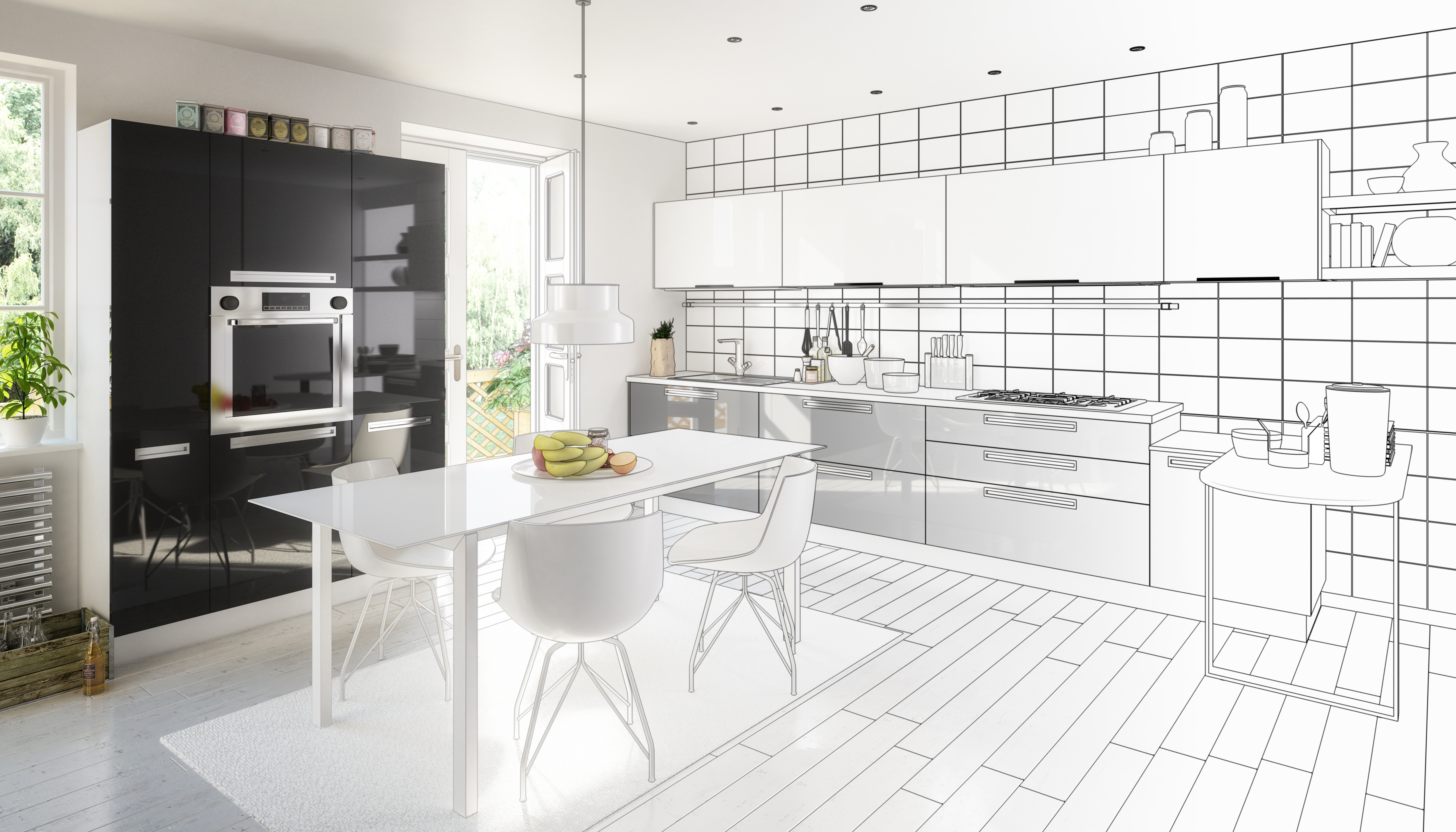 Kitchen modeling
