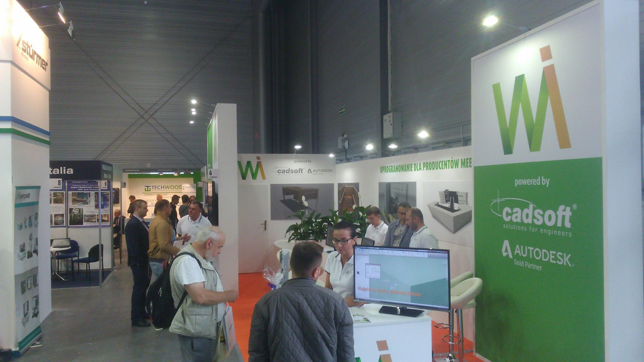 At the exhibition in Poland 2017